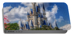 Cinderella Castle Summer Day Portable Battery Charger