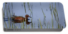 Cinnamon Teal Adult Male Portable Battery Charger
