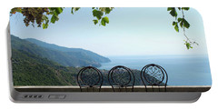 Cinque Terre View Portable Battery Charger