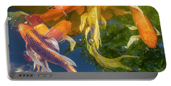 Circle Of Koi Portable Battery Charger