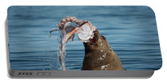 Portable Battery Charger featuring the photograph Circle Of Life - Wildlife Art by Jordan Blackstone