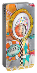 Circus Two Portable Battery Charger by Karin Husty