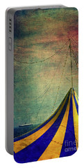 Circus With Distant Ships II Portable Battery Charger