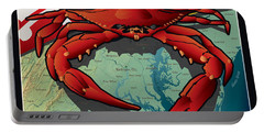 Citizen Crab Of Maryland Portable Battery Charger