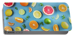 Citrus Summer Portable Battery Charger