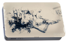 Portable Battery Charger featuring the photograph City Girl Dreaming by Chris Armytage