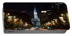 City Hall From The Parkway Portable Battery Charger