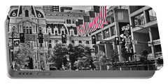 City Of Brotherly Love - Philadelphia Portable Battery Charger