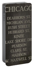 City Of Chicago Portable Battery Charger