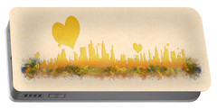 City Of Love Portable Battery Charger