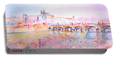 City Of Prague Portable Battery Charger