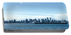 City Of Vancouver From The North Shore Portable Battery Charger