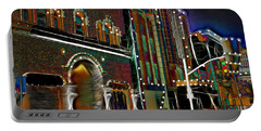 Portable Battery Charger featuring the photograph City Scene by EricaMaxine  Price