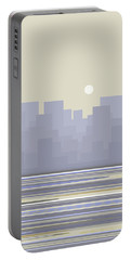 City Skyline Morning Portable Battery Charger