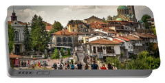 City - Veliko Tarnovo Bulgaria Europe Portable Battery Charger