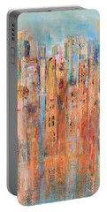 Cityscape #3 Portable Battery Charger
