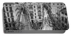 Cityscape Valencia Spain Portable Battery Charger
