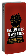 Civil Liberties In War Times - Wpa Portable Battery Charger