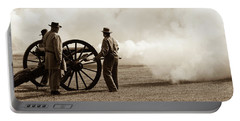 Civil War Era Cannon Firing  Portable Battery Charger