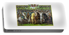 Civil War Generals And Statesman Portable Battery Charger
