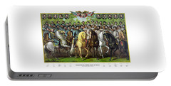 Civil War Generals And Statesman With Names Portable Battery Charger