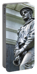 Civil War Memorial - Fitchburg, Ma Portable Battery Charger