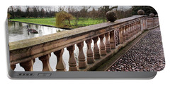 Portable Battery Charger featuring the photograph Clare College Bridge Cambridge by Gill Billington