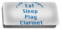 Clarinet Eat Sleep Play Clarinet 5512.02 Portable Battery Charger