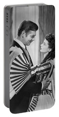 Clark Gable And Vivien Leigh Portable Battery Charger