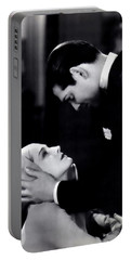 Portable Battery Charger featuring the photograph Clark Gable In A Free Soul by R Muirhead Art