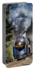 Class J 611 Steam Engine At Ridgecrest Portable Battery Charger