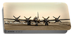 Classic B-29 Bomber Aircraft Portable Battery Charger