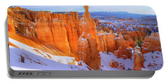 Portable Battery Charger featuring the photograph Classic Bryce by Chad Dutson