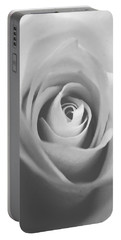 Classic Bw Rose Portable Battery Charger