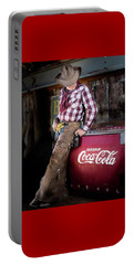 Classic Coca-cola Cowboy Portable Battery Charger
