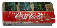 Classic Coke Portable Battery Charger by David Lee Thompson