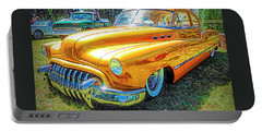 Classic Fifties Buick - Cruising The Coast Portable Battery Charger