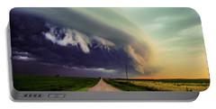 Classic Nebraska Shelf Cloud 024 Portable Battery Charger