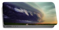 Classic Nebraska Shelf Cloud 027 Portable Battery Charger