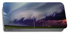 Classic Nebraska Shelf Cloud 028 Portable Battery Charger