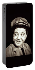Classic Ralph Kramden Portable Battery Charger by Fred Larucci