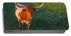 Classic Spring Scene In Texas Portable Battery Charger