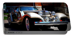 Portable Battery Charger featuring the photograph Classic Streets by Al Fritz