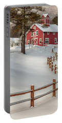 Classic Vermont Barn Portable Battery Charger