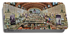 Classic Westside Market Portable Battery Charger by Frozen in Time Fine Art Photography