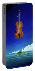 Classical Seascape Portable Battery Charger