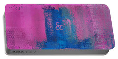 Portable Battery Charger featuring the digital art Classico - S0307d by Variance Collections