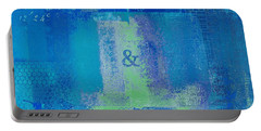 Portable Battery Charger featuring the digital art Classico - S03c06 by Variance Collections