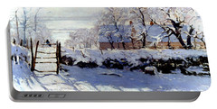 Claude Monet: The Magpie Portable Battery Charger