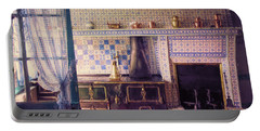 Claude Monet's Kitchen Portable Battery Charger by John Rivera